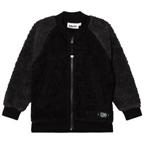 Molo Hooley Fleece Jacket Black Black