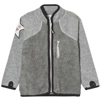 Molo Uma Fleece Jacket Grey Melange Grey Melange