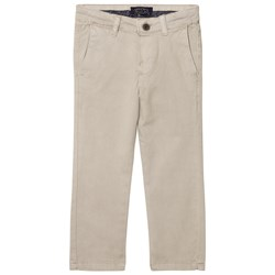 Mayoral Beige Twill Trousers