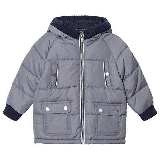 Mayoral Grey Padded Hooded Coat 77