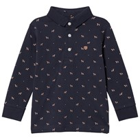 Mayoral Navy Puppies Print Polo 38
