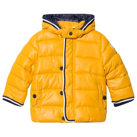 Mayoral Yellow Puffer Coat with Detachable Hood 68