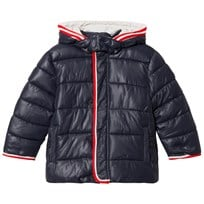 Mayoral Navy Puffer Coat with Detachable Hood 69