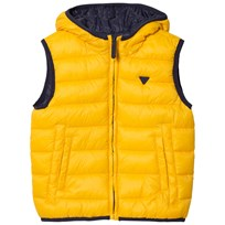 Mayoral Navy and Yellow Reversible Gilet 17