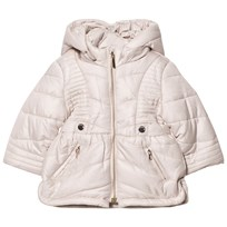 Mayoral Beige Hooded Puffer Coat 59
