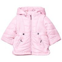 Mayoral Pink Hooded Puffer Coat 60