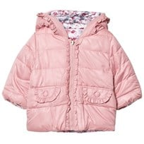 Mayoral Pink Padded Reversible Coat 96