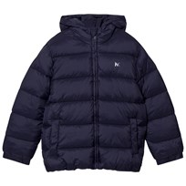 Mayoral Navy Padded Hooded Coat 66