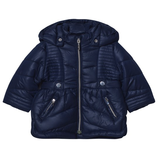 Mayoral Navy Hooded Puffer Coat 62