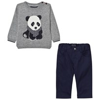 Mayoral Grey Panda Jumper and Trousers Set 20