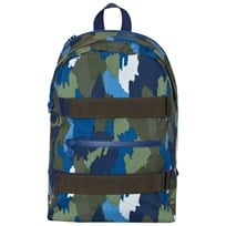 Stella McCartney Kids Navy Camo Ski Backpack 2864
