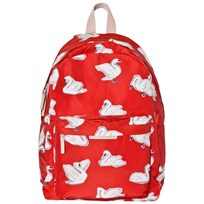 Stella McCartney Kids Red Bang Swans Backpack 6565