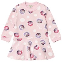 Kenzo Pink Spot Sweat Dress 32