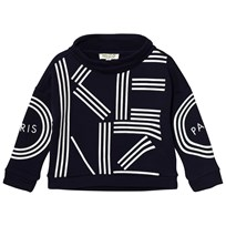 Kenzo Navy Branded Mock Neck Sweatshirt 49