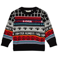 Kenzo Black Logo Knit All Over Sweater 02