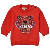 Kenzo Red Tiger Embroidered Sweatshirt 031