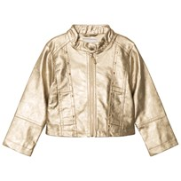 Mayoral Champagne Studded Pleather Jacket 81