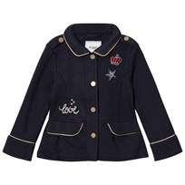 Mayoral Navy Jersey Badge Applique Jacket 23