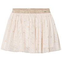 Mayoral Beige Star Print Skirt 95