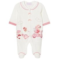 Mayoral Little Bear Velour Sparkdräkt Cream 51