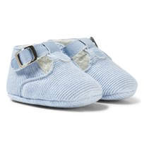 Mayoral Blue Knitted T-Bar Booties 87