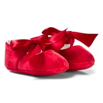 Mayoral Red Bow Buckled Mary Janes 75