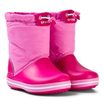 Crocs Crocband LodgePoint Boot K Candy Pink/Party Pink Candy Pink/Party Pink