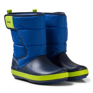 Image of Crocs Lodgepoint Snow Boots Blue/Navy C6 (EU 22/23) (3141036475)