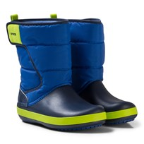 Crocs LodgePoint Snow Boot K Blue Jean/Navy Blue Jean/Navy