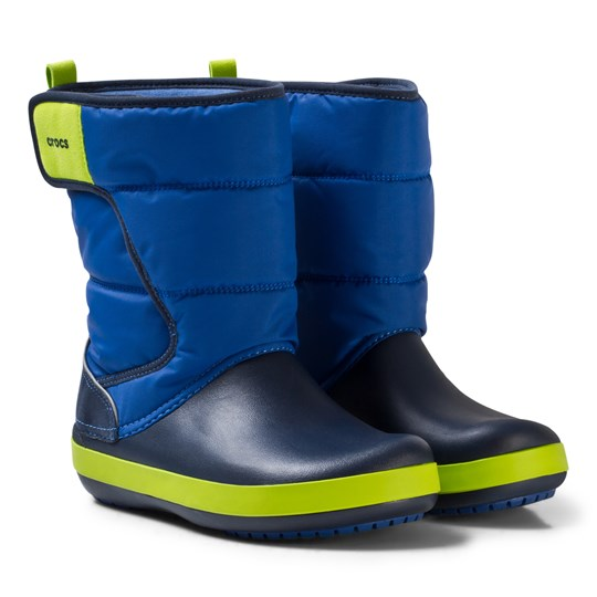 Crocs Lodgepoint Snow Boots Blue/Navy Blue Jean/Navy