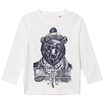 Timberland White Mountain Bear Print Tee 117