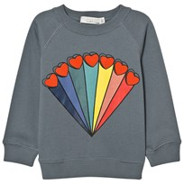 Stella McCartney Kids Rainbow Print Tröja Grå 4961