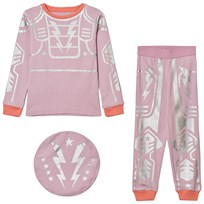 Stella McCartney Kids Pink Robot Andrea Pyjamas 5350
