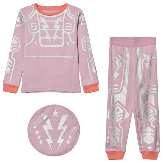 Stella McCartney Kids Andrea Robot Pyjamas Rosa 5350