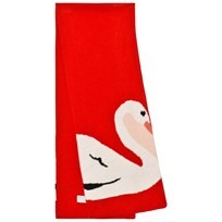 Stella McCartney Kids Red Swan Robbie Scarf 6564