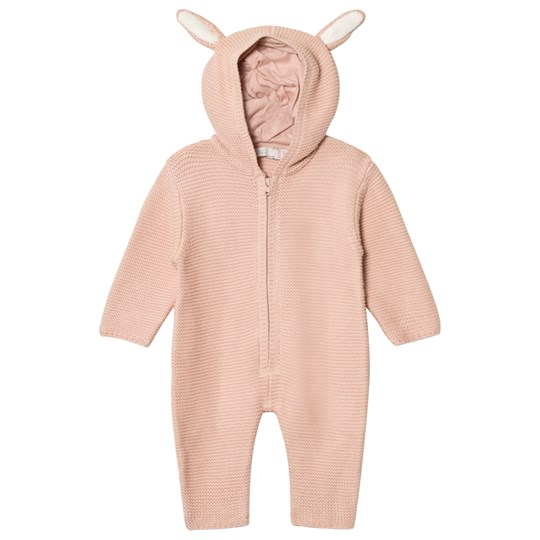 Stella McCartney Kids Acorn Stickad Onesie Rosa 5768
