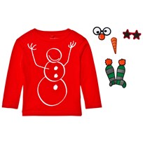 Stella McCartney Kids Snowman Christmas Tröja Röd 6564