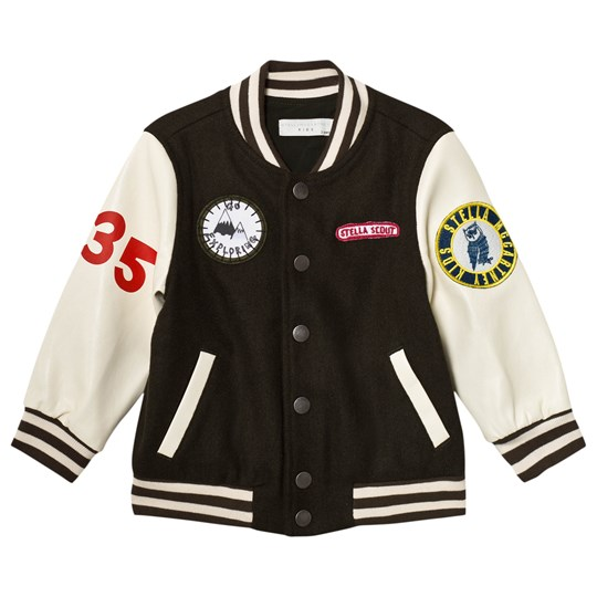 Stella McCartney Kids Donald Varsity Jacka Khaki 2470