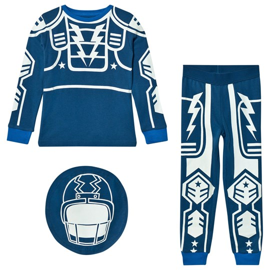 Stella McCartney Kids Louie Robot Pyjamas Blå 4962