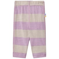 Joha Wide Stripe Leggings Purple Purple