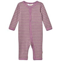 Joha Purple Striped One-Piece Purple