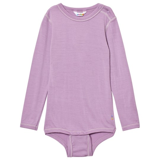 Joha Long Sleeve Baby Body Purple Purple
