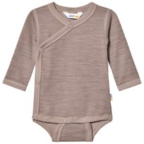 Joha Light Brown Organic Cotton Wrap Body BROWN
