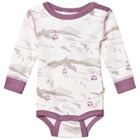 Joha Cable Car Long Sleeve Baby Body Purple Purple