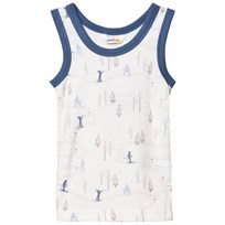 Joha Cable Car Undershirt Blue Blue