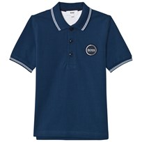 BOSS Navy Branded Polo 804