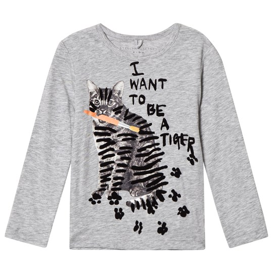 Stella McCartney Kids Tiger Print Bella Tröja Grå 1461