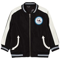 Stella McCartney Kids Black Eastwood Bomber Jacket 1074
