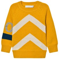 Stella McCartney Kids Yellow Go Go Jumper 7065