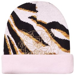 Kenzo Pink Tiger Embroidered Beanie